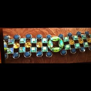 Givenchy stunning Vintage Rhinestone Bracelet